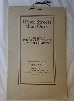 Other Streets Than Ours 1926 Calendar 12 Scenic Prints by Henry John Yeend King