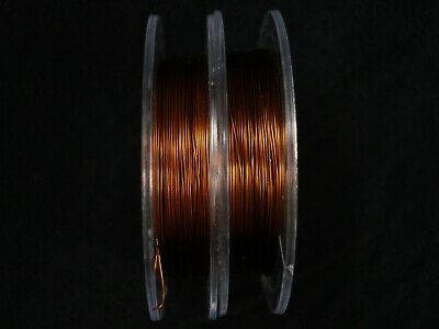 Beading Wire 28 Gauge 0.3mm 2 x 10m Rolls Brown Beading Jewellery FREE POSTAGE