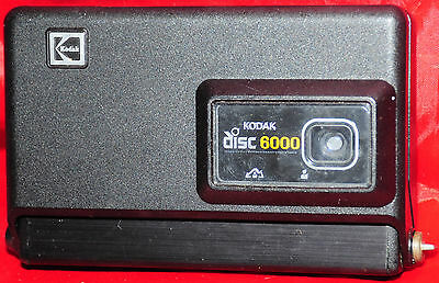 Kodak Disc 6000 Camera With Kodacolor Gold Film & Manual 1982