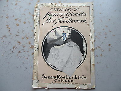Sears Roebuck Catalog of Fancy Goods and Art Needlework from 1927