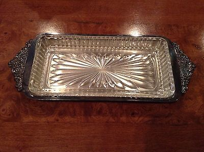 Baroque Silverplate by Wallace - Relish or Butter Pat Dish #723
