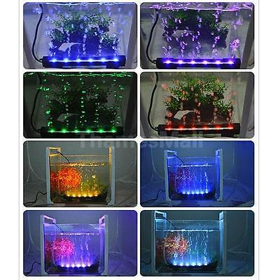 LED Multi-color Remote Aquarium Underwater Submersible Light Bar-US Plug