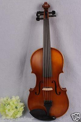 16'' electric Acoustic Viola Solid wood Powerful Sound 5 string yinfente ####