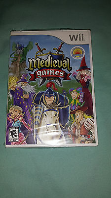 Medieval Games (Nintendo Wii, 2009) NEW SEALED Video Game Rated E ~FREE SHIPPING