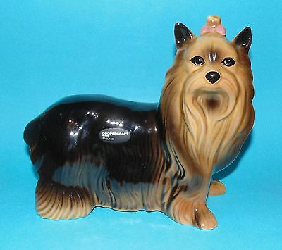 COOPERCRAFT ornament  figurine ' Yorkshire Terrier '  dog 1st Quality