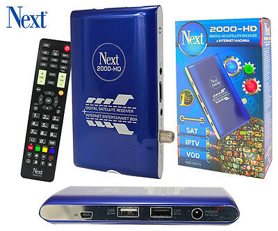 Next Minix 2000 HD Machina HDTV Satelliten Receiver TOP PREIS/LEISTUNG