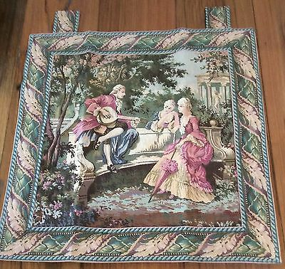 "Fench Country Wall Hanging Victorian Style Cotton Tapestry 60x60cm (24x24"")"