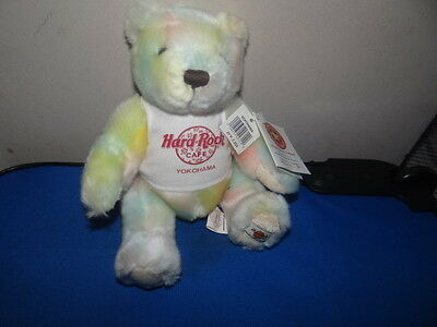 Hard Rock Cafe Herrington Yokohama Summer Teddy Bear 2002 New