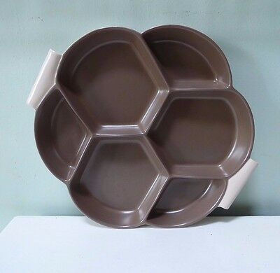 Vintage Poole Pottery hors d'oeuvres / serving / nibbles dish ##gaCHY75BS