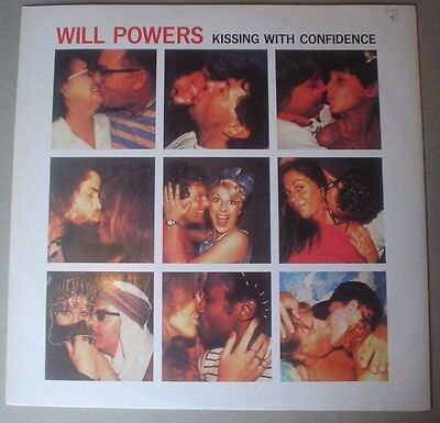 """Will Powers - Kissing With Confidence - Ex++ Island Vinyl 12"""""""