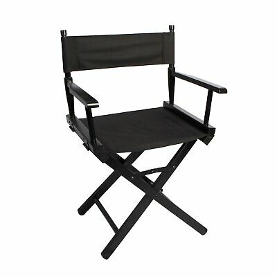 Professional Foldable Makeup Artist Director Chair Wood Outdoor Camping Salon