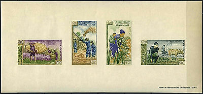 Laos 1963 SG#MS131a Freedom From Hunger MNH Imperf M/S Sheet #C129