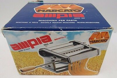 Marcato Ampia Mod. 150 Pasta Maker Machine Italian In Box - KEY L22