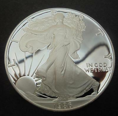 USA 1986 - S Silver Eagle $1 One Dollar Proof Coin 1oz