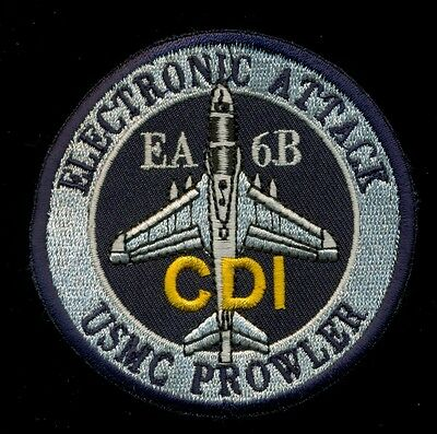 USMC EA-6B CDI Prowler Electronic Attack Patch K-1