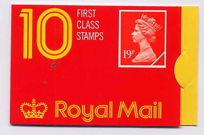 GB 1988 £1.90 BARCODE BOOKLET GP3a