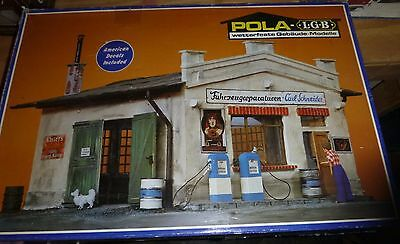 Lgb/pola 931 Service Station With Repair Shop G-Scale