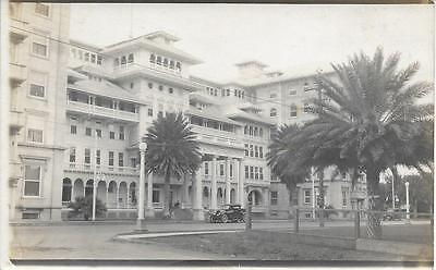 Hotel or Government Building 1920s? Hawaii nice real photo postcard