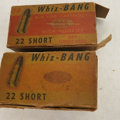 2 Vintage Antique Whiz-BANG Bullet Boxes Snaps for Crafts or Parts Canada