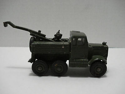 Dinky Supertoys Scammell Military Recovery Tractor # 661-G Made In England 1957
