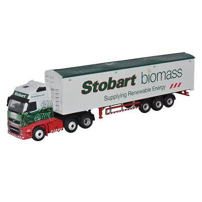 Bnib Oo Gauge Oxford 1:76 Stob036 Stobart Biomass Walking Floor Volvo Fh Lorry