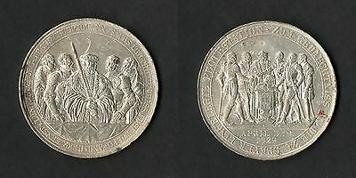 Germany Silver Medal 300th Anniversary Of Protestation at Speyer, Bavaria 1829