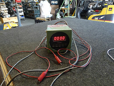 Standard Electric Time Corp Model 11-2 Precision Timer 9999. to 9.999 Seconds