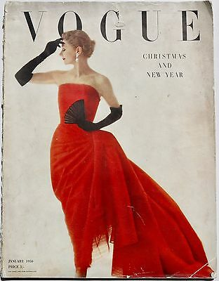 1950 IRVING PENN Half a Century of Fashion VINTAGE VOGUE magazine