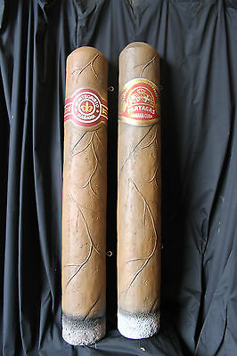 Giant 5' GIGAR TOBACCO SIGN Store Indian Monte Cristo Partagas SPECIAL