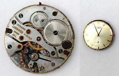 LONGINES 30L original watch movement for parts / repair  (5304)