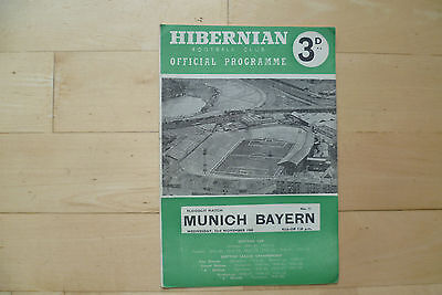 Hibernain v Bayern Munich 1960 Floodlit match