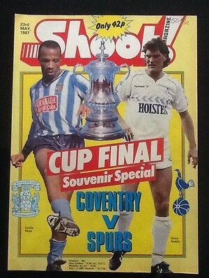 9xA4 Football picture memorabilia COVENTRY CITY FA CUP WINNERS 1987 v Spurs