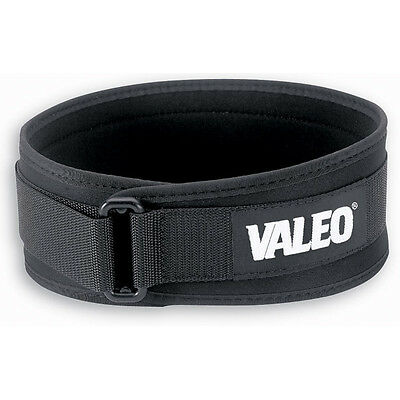 "Valeo 6"" Performance Low Profile Weight Lifting Belt"