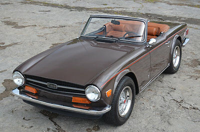 1973 Triumph TR-6  36575 mile Factory Air Conditioning Exceptional TR6