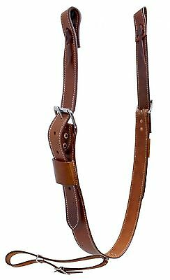 "1 3/4"" Wide Medium Oil Rear Girth or Flank Cinch With Billets New Horse Tack"