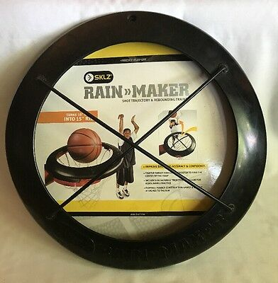SKLZ Rain Maker Shot Trajectory Rebounding Basketball Trainer