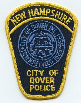 old vintage DOVER NEW HAMPSHIRE NH POLICE PATCH
