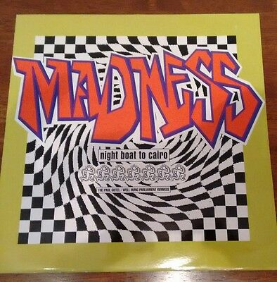 "Madness: Night Boat to Cairo 1993 Remixes (12"" Vinyl EP)"
