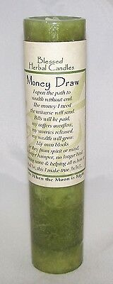 MONEY DRAW Candle - Coventry Creations MONEY Magick Wicca Blessed Herbal candle