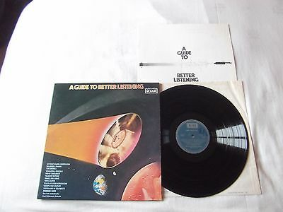 A Guide To Better Listening Rare Album Decca Record Label with Booklet