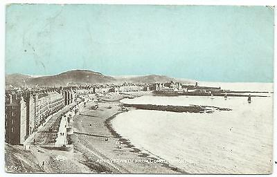 """WALES - ABERYSTWYTH, FROM CONSTITUTION HILL 1905 """"Dainty Series"""" Postcard"""