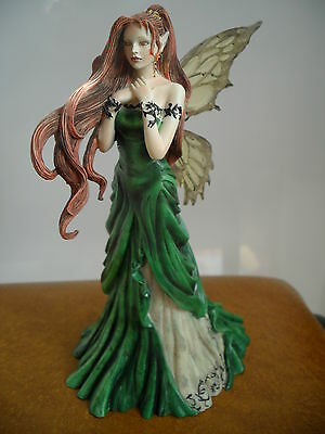 """Fairy Site  Fairy Figure""""direwood"""" By Nene Thomas  New And Boxed Retired Figure"""