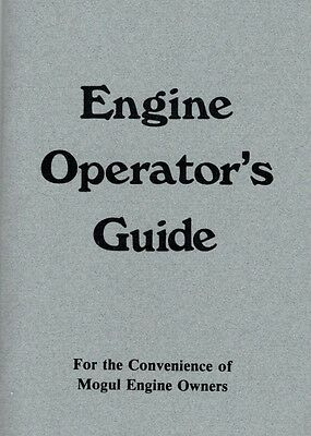 International Mogul Gas Engine Motor Operator's Guide Manual Book