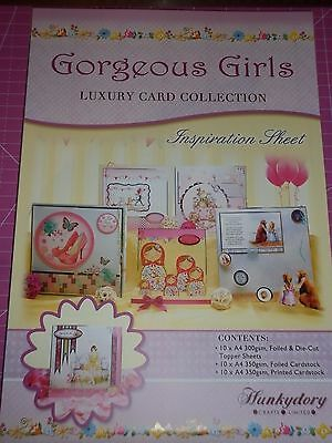 Hunkydory's 'GORGEOUS GIRLS' - Luxury Card Collection - NEW -