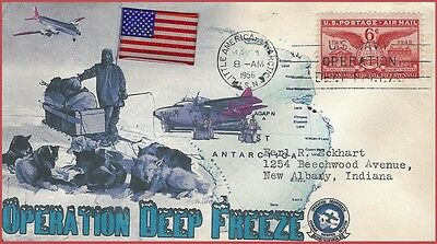 Mason Admiral Byrd Operation Deep Freeze 1956 Collectors Commemorative Cover
