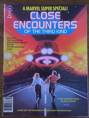 CLOSE ENCOUNTERS OF THE THIRD KIND (1978) Marvel Comics Super Special #3 F/G