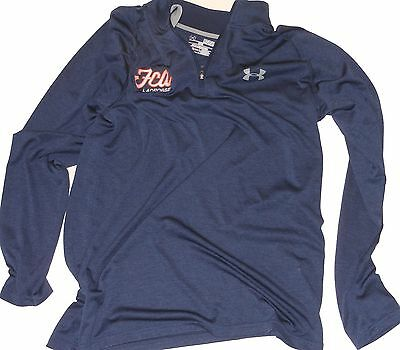 Mens FCA Under Armour Lacrosse shooter pinnies jersey shirt LARGE BLUE $65