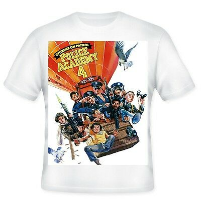 Police Academy 4 - Printed T-Shirt 100% Polyester.