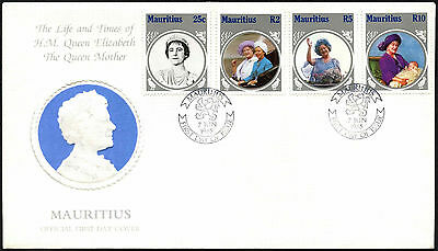 Mauritius 1985 The Queen Mother FDC First Day Cover #C42363