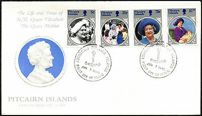 Pitcairn Islands 1985 The Queen Mother FDC First Day Cover #C42367